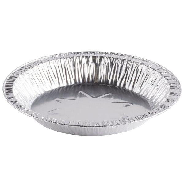 D&W Fine Pack 10840 8 inch Foil Pie Plate 1 1/16 inch Deep - 1000/Case