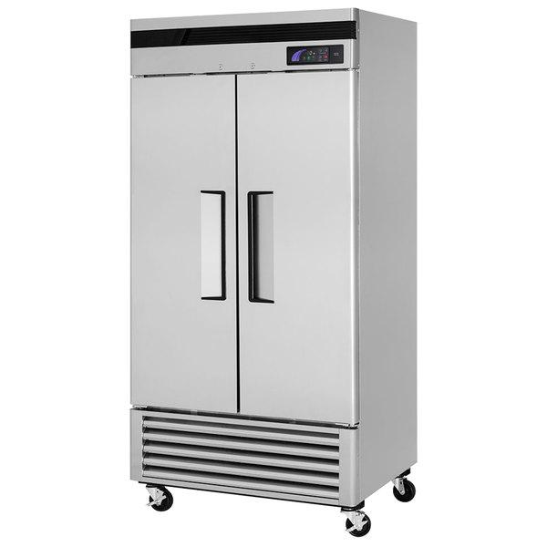 "Turbo Air TSF-35SD Super Deluxe 40"" Solid Door Reach In Freezer"