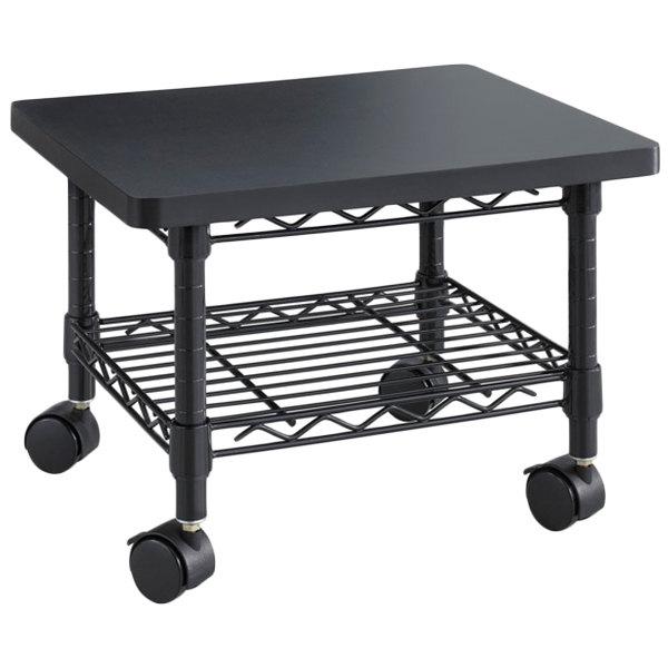 Safco 5206bl 2 Shelf Black Under Desk Printer Stand 19 X 16 13 1