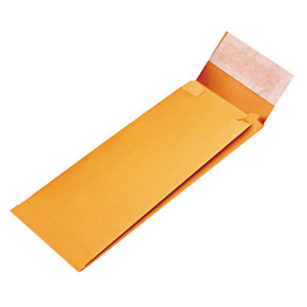 "Quality Park 93331 5"" x 11"" x 2"" Brown Kraft Expansion File Envelope with Redi-Strip Seal - 25/Pack Main Image 1"