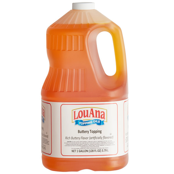 LouAna 1 Gallon Butter Flavored Topping Main Image 1
