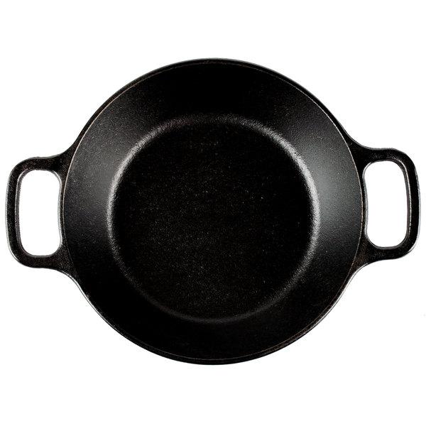 Lodge L5RPL3 Cast Iron Round Pan Black 8 in