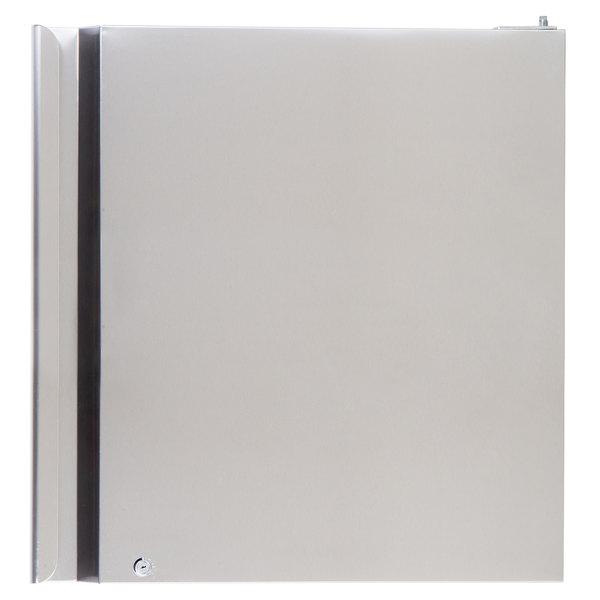 "Avantco 17818906 Right Hinged Top Half Door for Avantco SS-2/4 Refrigeration - 26 1/2"" x 26 1/4"" Main Image 1"