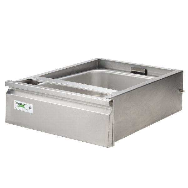 """Regency 20"""" x 15"""" x 5"""" Drawer with Stainless Steel Front"""