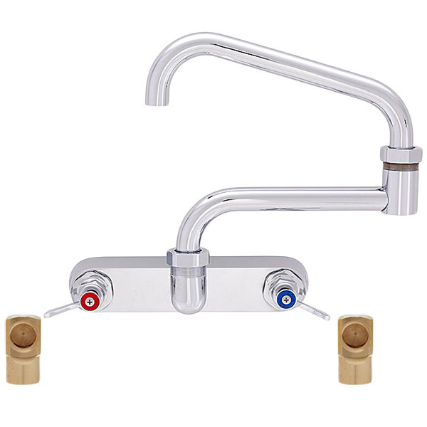 Fisher 45055 Backsplash Mounted Faucet With 8 Quot Centers 17