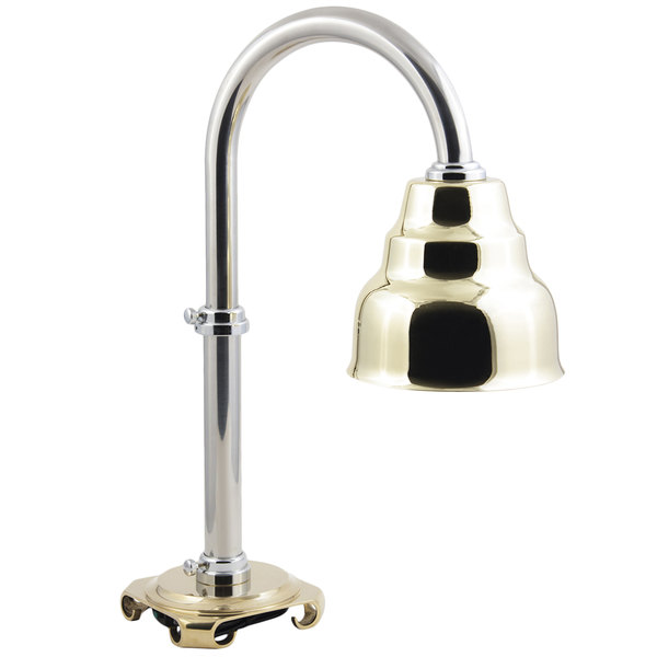 Bon Chef 9686 Adjustable Height Single Bulb Freestanding Heat Lamp Main Image 1