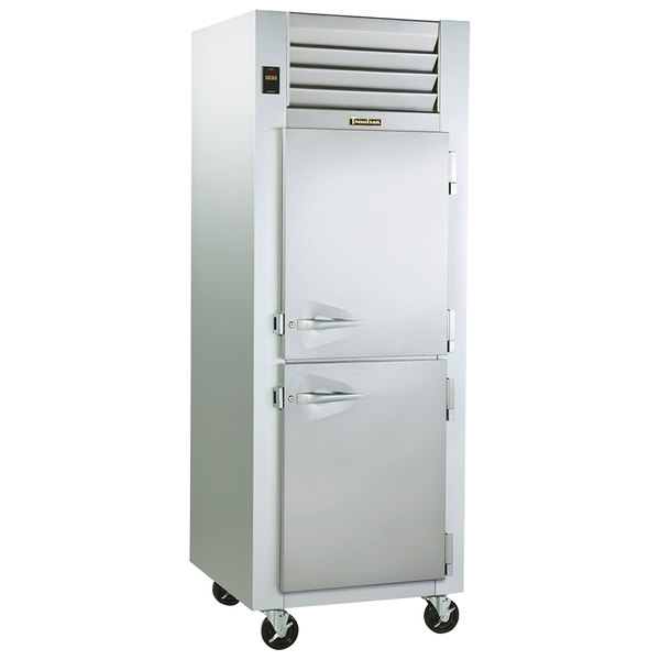 Traulsen ADT132EUT-HHS 23.6 Cu. Ft. Single Section Extra Wide Reach In Refrigerator / Freezer - Specification Line
