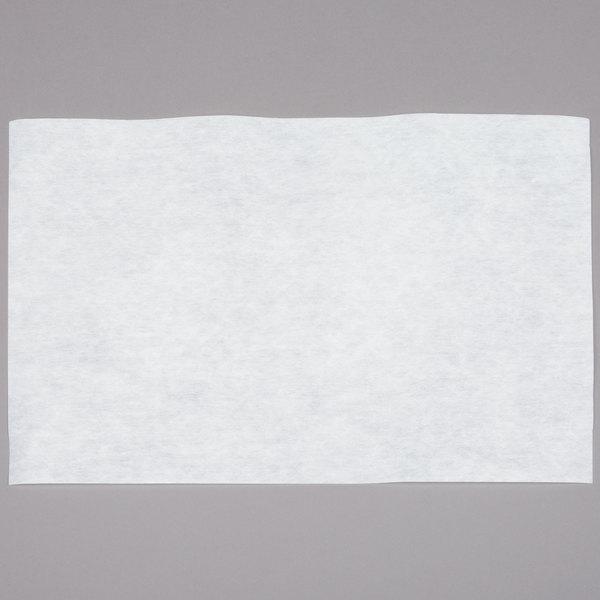 "12 1/2"" x 17 3/4"" Fryer Oil Filter Paper - 100/Case"