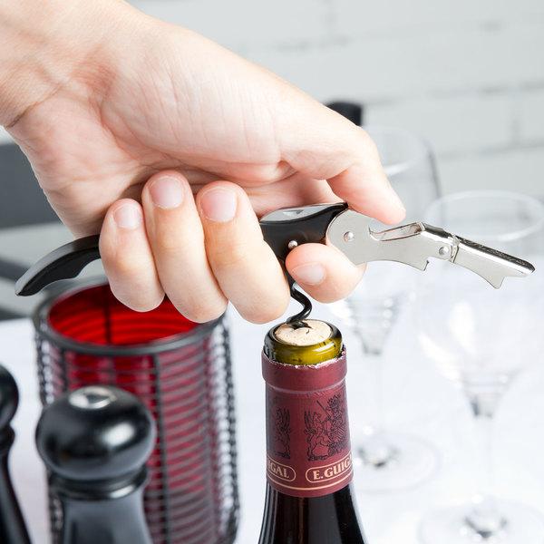 Pulltap's Waiter's Corkscrew with Black Handle