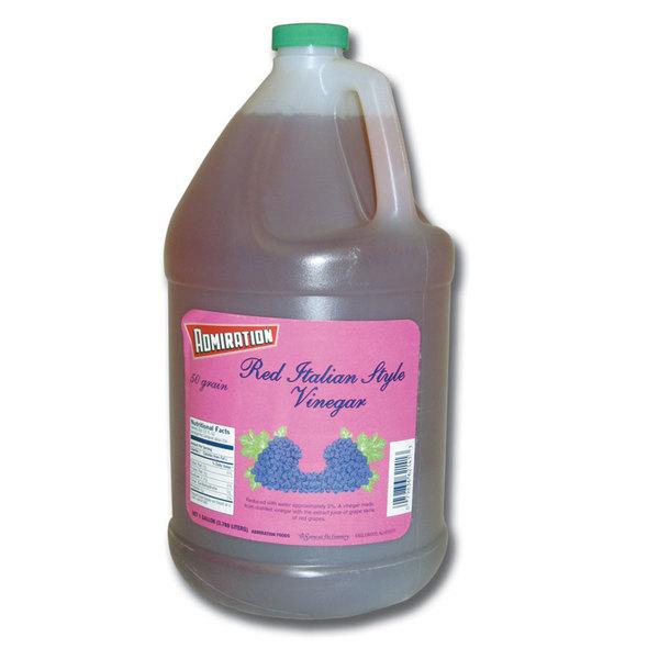 Admiration 1 Gallon Red Wine Vinegar - 4/Case
