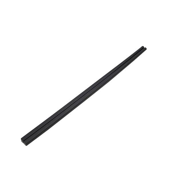 """Elite Global Solutions CH105 Zen 10 1/2"""" Matte Black Melamine Chopsticks Set - 10/Pack Main Image 1"""