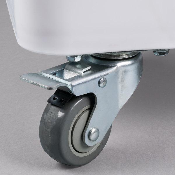 """Baker's Mark 3"""" Swivel Plate Caster with Brake Main Image 6"""