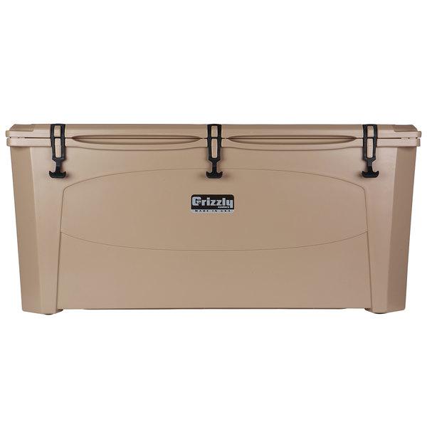 Grizzly Cooler 165 Qt. Tan Outdoor Merchandiser / Cooler