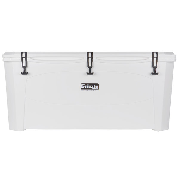 Grizzly Cooler 165 Qt. White Outdoor Merchandiser / Cooler