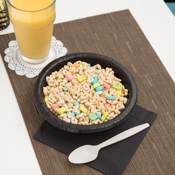 Creative Converting 173260 20 oz. Black Velvet Paper Bowl - 200/Case