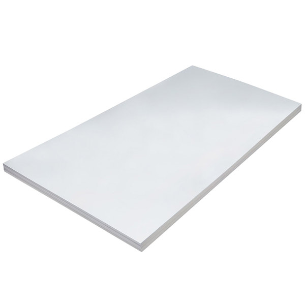 """Pacon 5226 36"""" x 24"""" Heavy Weight White Tagboard - 100/Pack Main Image 1"""