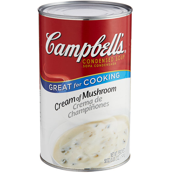 Campbell S Cream Of Mushroom Soup Condensed 50 Oz Can