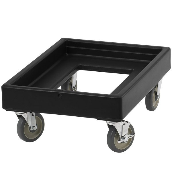 Cambro CD100110 Black Camdolly for Cambro Camcarriers and Camtainers Main Image 1
