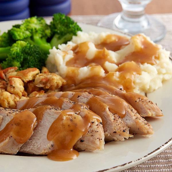 Vanee 550VT 50 oz. Can Roasted Turkey Gravy - 12/Case Main Image 2