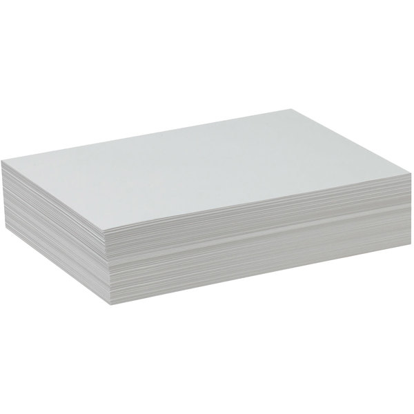 """Pacon 4739 9"""" x 12"""" White Ream of 47# Drawing Paper - 500 Sheets/Ream"""