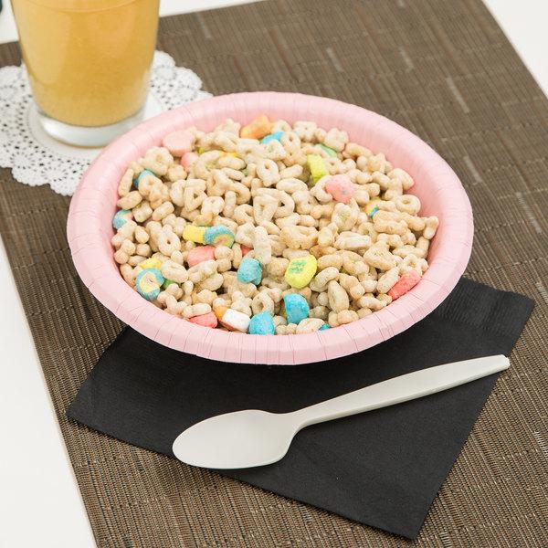 Creative Converting 173274 20 oz. Classic Pink Paper Bowl - 20/Pack