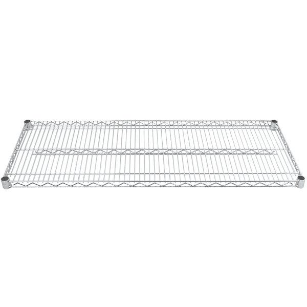 "Advance Tabco EC-2148 21"" x 48"" Chrome Wire Shelf"