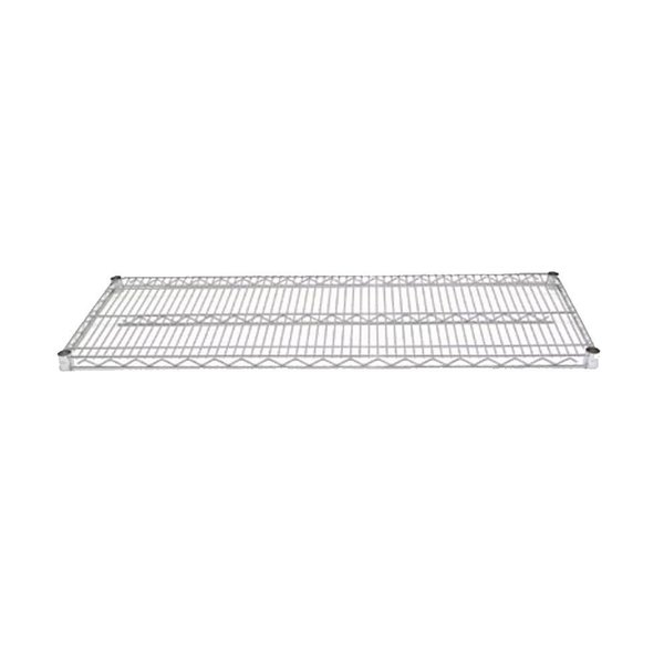 Advance Tabco EC-2148 21 inch x 48 inch Chrome Wire Shelf