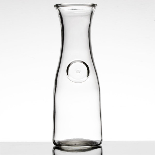 Acopa 17 oz. Glass Carafe - 12/Case