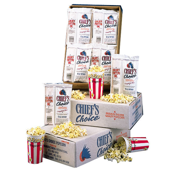 6 oz. Star Chief's Choice CC28-6OZ All-in-One Popcorn Kit - 28 / Case