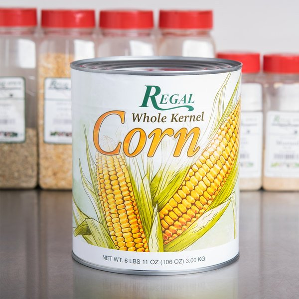 Regal Foods Whole Kernel Sweet Corn - #10 Can - 6/Case