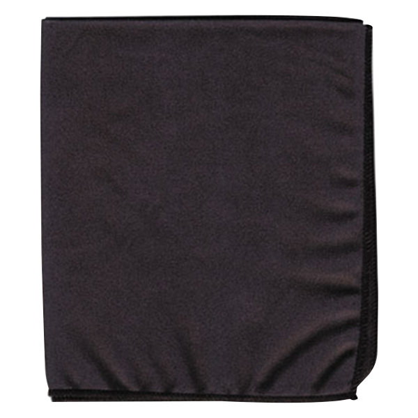 "Creativity Street 2032 14"" x 12"" Black Microfiber Dry Erase Cloth"
