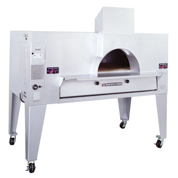 """Bakers Pride FC-816 IL Forno Classico Natural Gas Brick Lined Deck Oven - 66"""""""