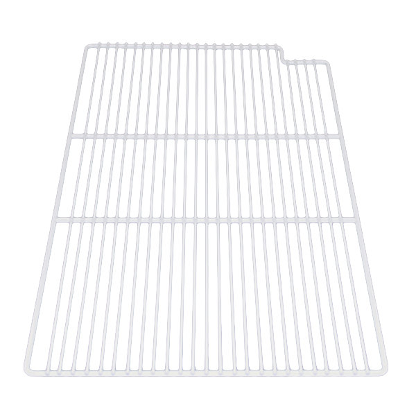 "True 909417 White Coated Right Side Shelf with Shelf Clips - 17 1/4"" x 28"""