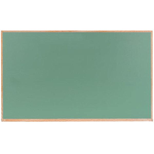 Aarco Oc4872g 48 X 72 Green Solid Oak Wood Frame Slate Composition Chalkboard