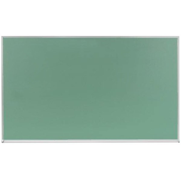 """Aarco DC3660G 36"""" x 60"""" Green Satin Anodized Aluminum Frame Slate Composition Chalkboard"""