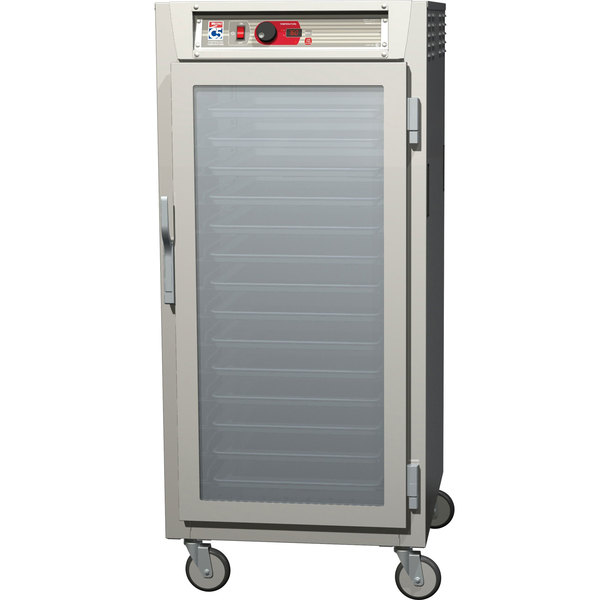 Metro C587-NFC-L C5 8 Series Reach-In Heated Holding Cabinet - Clear Door