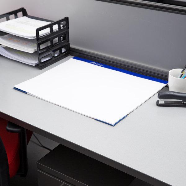 "Ampad 24-714 17"" x 22"" Unruled Perforated Desk Pad"
