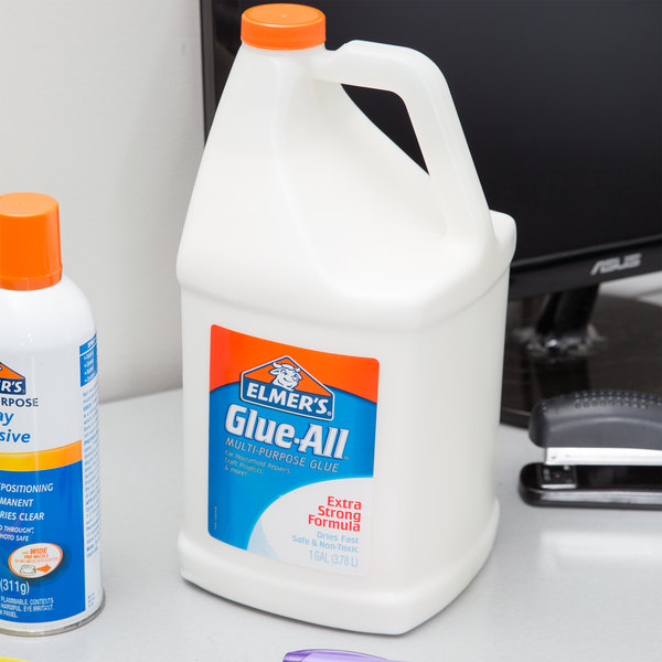 Elmer's E1326 Glue-All 1 Gallon White Multipurpose Glue