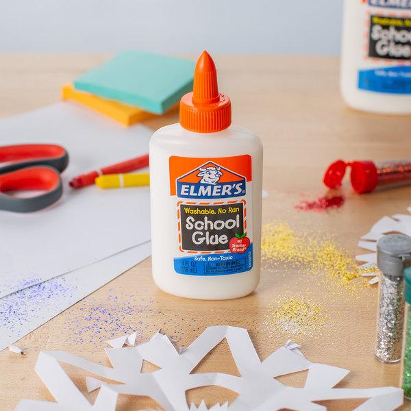 Elmer's E304 4 oz. White Liquid School Glue