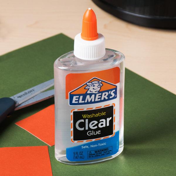 Elmer's E305 5 oz. Clear Liquid School Glue