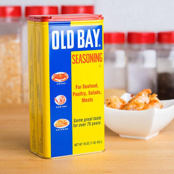 Old Bay 1 lb. Seasoning - 12/Case Main Image 3