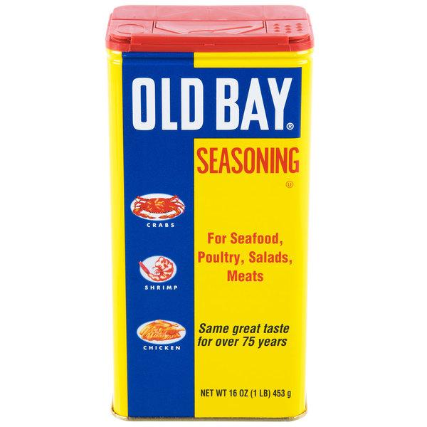 Old Bay 1 lb. Seasoning - 12/Case Main Image 1