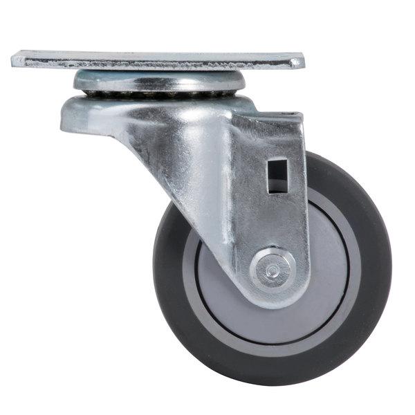 "3"" Swivel Plate Caster Main Image 1"