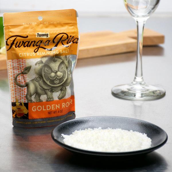 Twang-A-Rita 4 oz. Golden Roar Citrus Rimming Salt