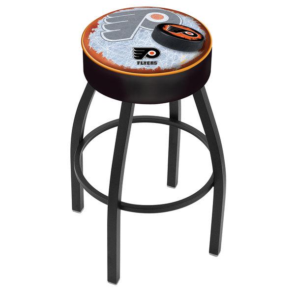 Holland Bar Stool L8b130phifly B D2 Philadelphia Flyers Single Ring Swivel With 4 Padded Seat