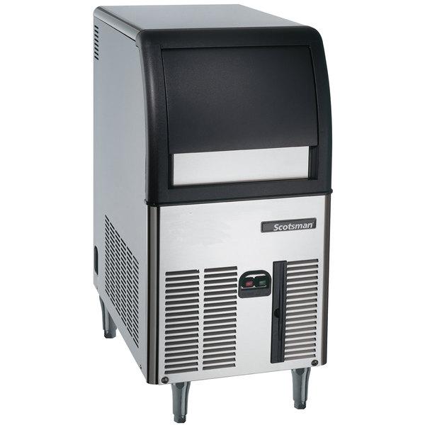 """Scotsman CU0515GA-1A 15"""" Air Cooled Undercounter Full Size Cube Ice Machine - 84 lb."""
