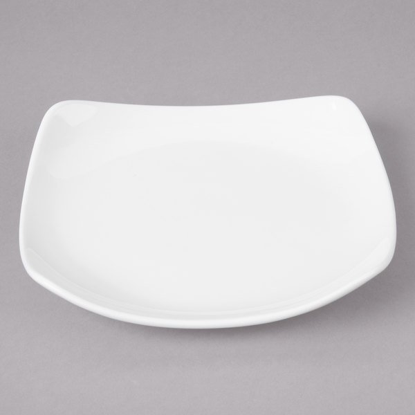 Bon Chef 1200007p Globe 6 X 6 White Porcelain Bread And Butter Plate 36 Case