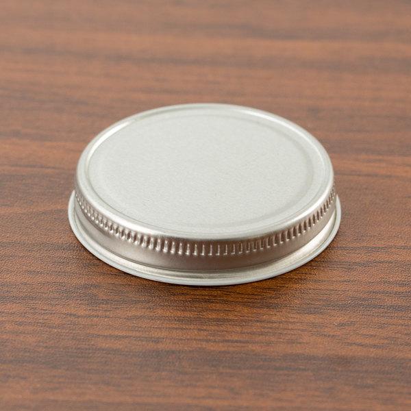 Libbey 92156 Silver Metal 2 5 Oz Culinary Jar Lid 36 Case