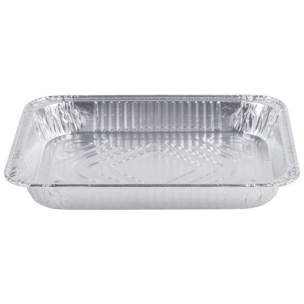1 2 Size Foil Steam Table Pan Shallow Depth 20 Pack