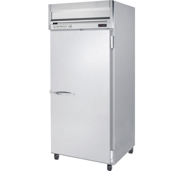 "Beverage-Air HR1W-1S Horizon Series 35"" Top Mounted Solid Door Reach-In Refrigerator"